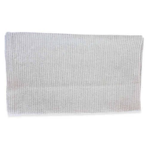 S/2 Handel Tea Towels, Gray/Ivory