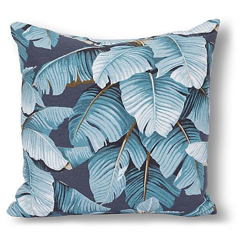 Kana 20x20 Pillow, Gray/Blue