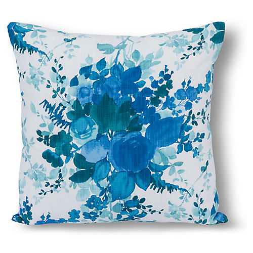 Azariah 22x22 Pillow, Blue