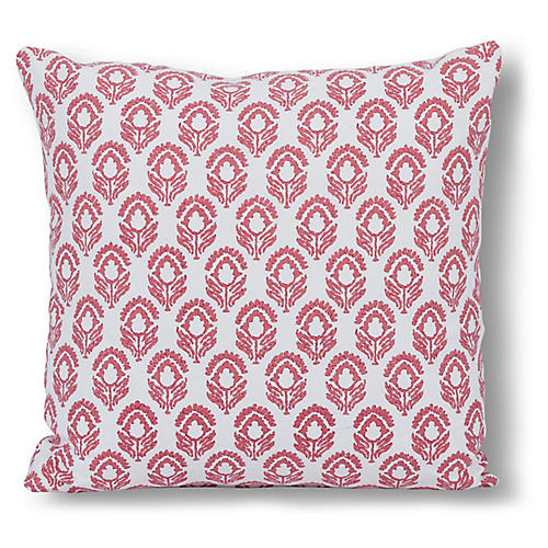 Bodhi 20x20 Pillow, Red Jasmine