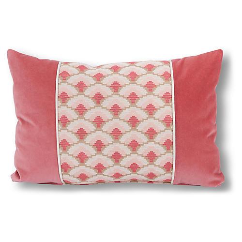 Cena 16x24 Lumbar Pillow, Coral
