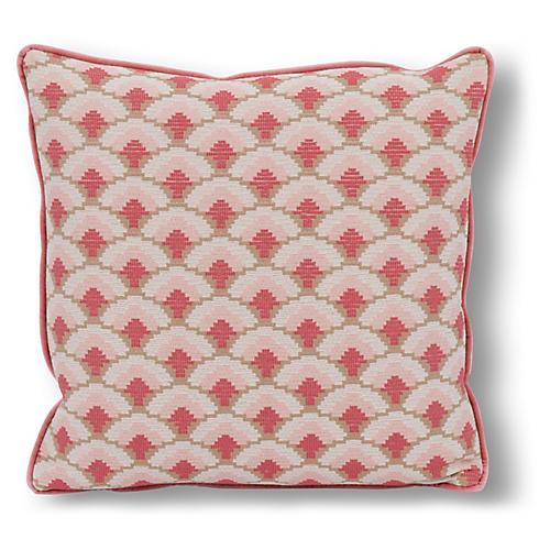 Cena 20x20 Pillow, Coral