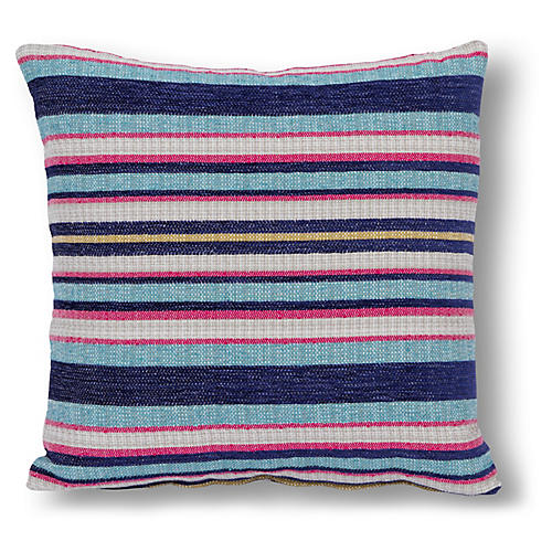 Reed 20x20 Pillow, Blue/Multi