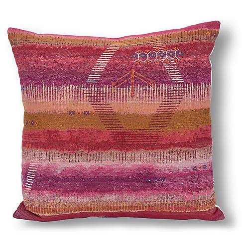 Tangier 22x22 Pillow, Pink/Multi