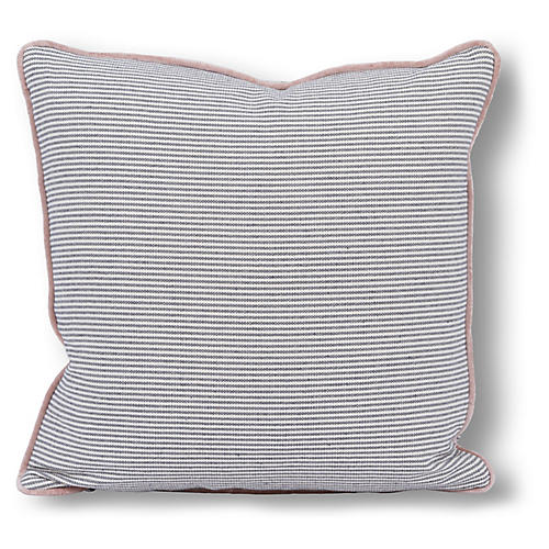 Oliver 22x22 Pillow, Gray