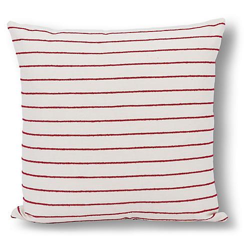 Atticus 22x22 Pillow, Red