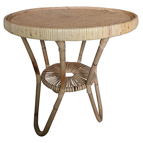 Libra Side Table, Natural