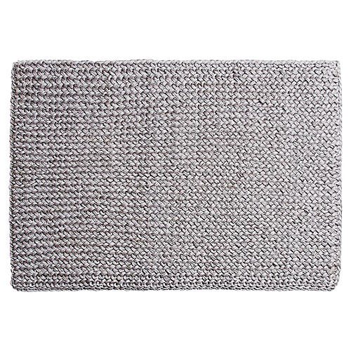"1'7""x2'4"" Costa Doormat, Gray"