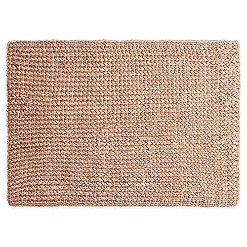 "1'7""x2'4"" Costa Doormat, Honey"