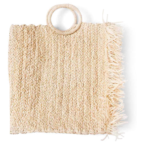 Ekon Braided Tote, Natural