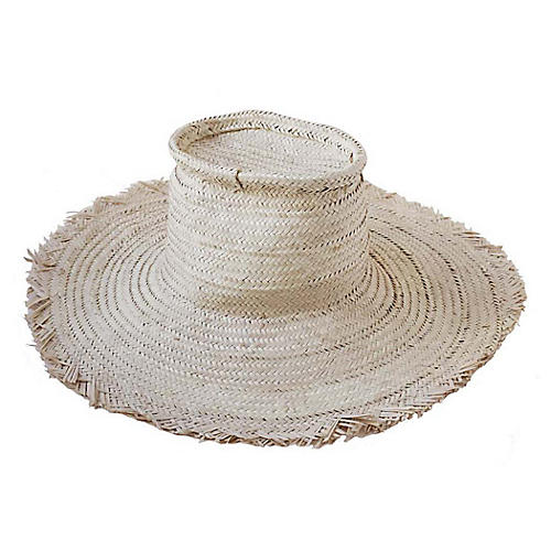 Tibor Palm Hat, Natural