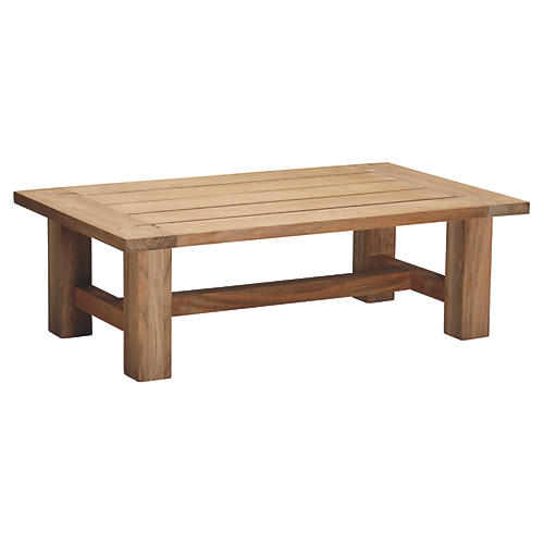 Croquet Teak Coffee Table, Teak