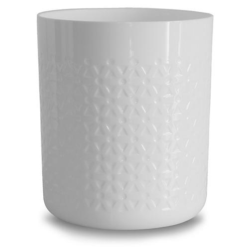 Errol Utensil Holder, White
