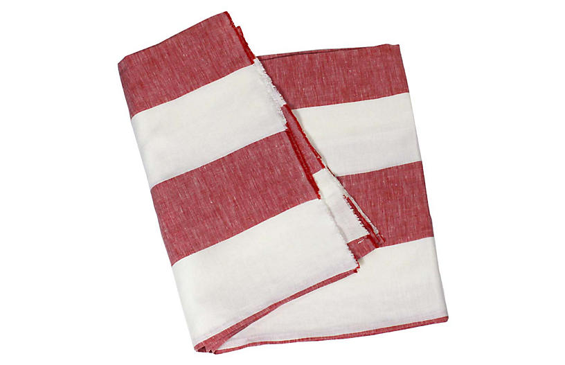 Harbour Island Beach Towel Red One Kings Lane