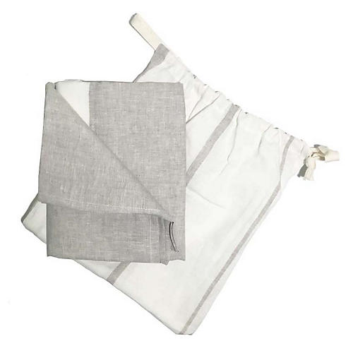 Majorca Beach Towel, Oatmeal
