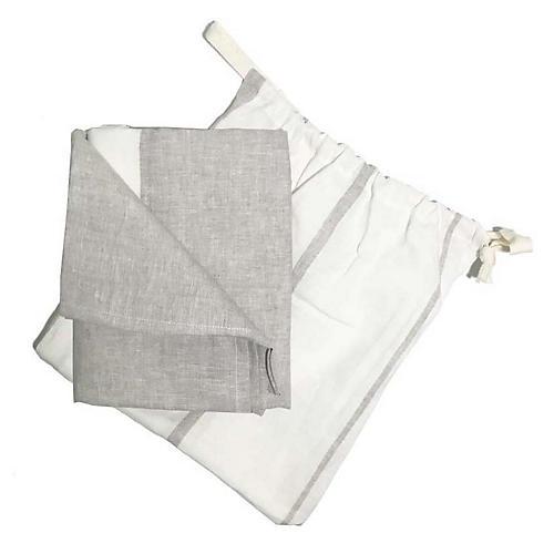 Majorca Beach Towel, Oatmeal