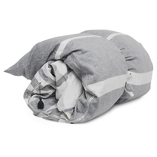 Majorca Throw Bed, Charcoal