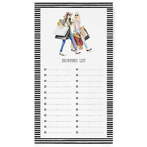 S/2 Shopping List Notepads