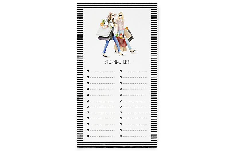 S/2 Shopping List Notepads