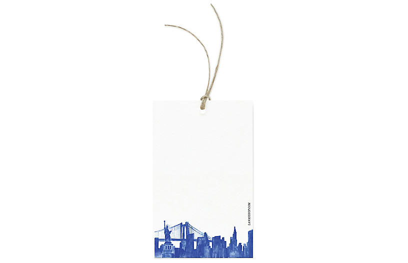 S/12 New York City Gift Tags