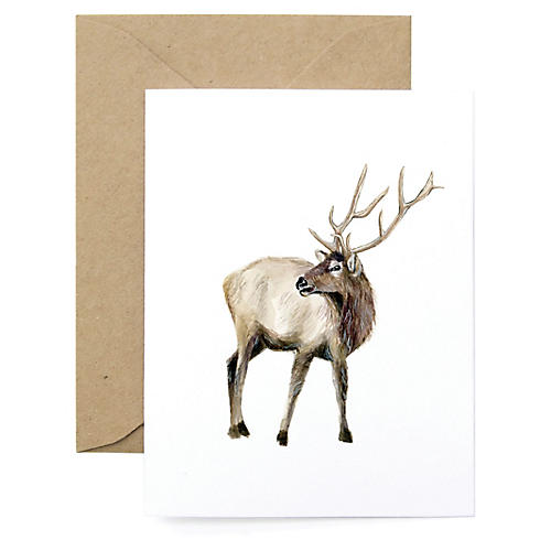 S/8 Elk Note Cards