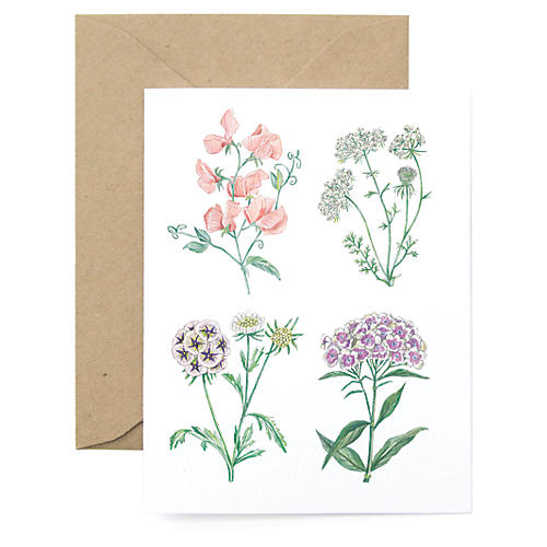 S/8 Spring Bloom Note Cards
