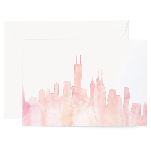 S/8 Chicago Note Cards