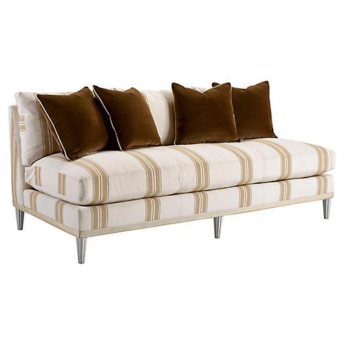 Pacific Heights Sofa, Tan Stripe