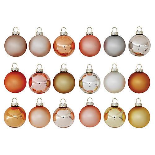 S/54 Metallic Ornaments, Silver/Multi