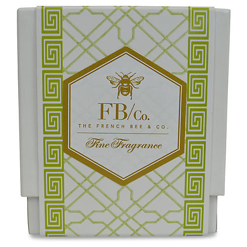 Green Fretwork Candle, Orange Blossom