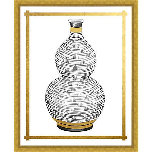 Golf Leaf Vase I