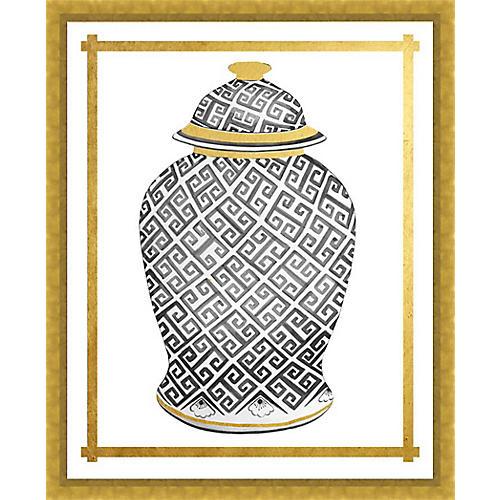Golf Leaf Vase II