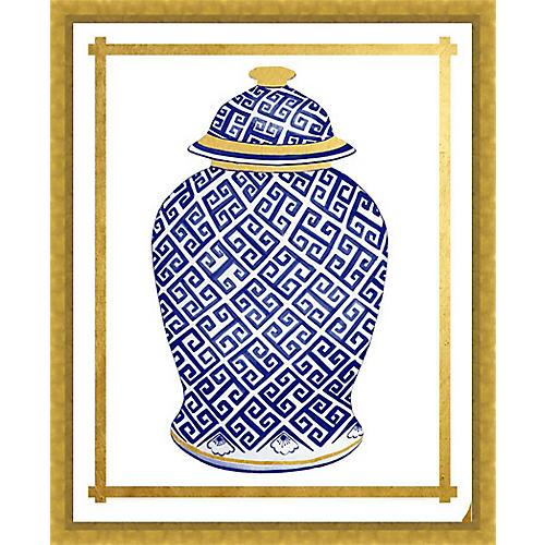 Golf Leaf Vase IV
