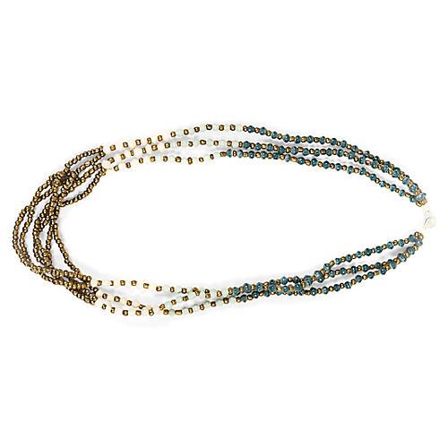 Dunia Necklace, Sea Grass
