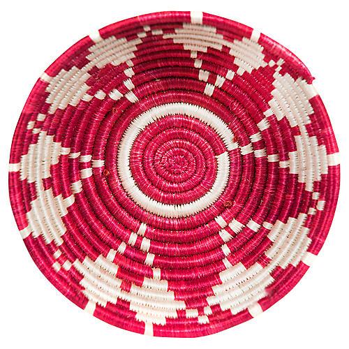 "6"" Karew Hima Basket, Fiery Red"