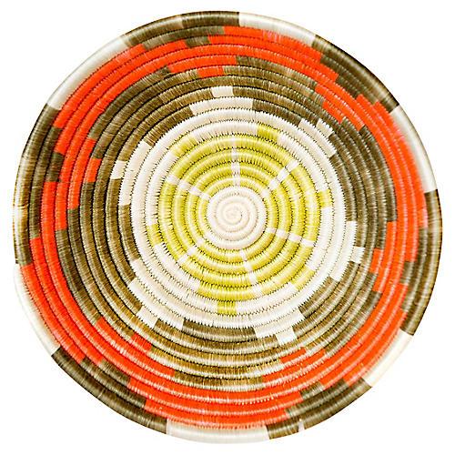 """10"""" Nala Elegu Basket, Blazing Orange"""