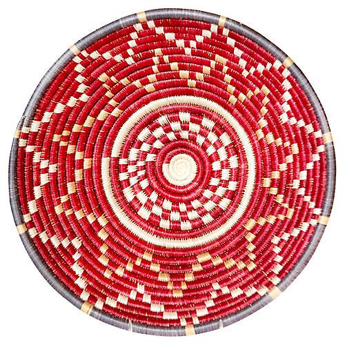 """12"""" Korren Maputo Basket, Earth Red"""