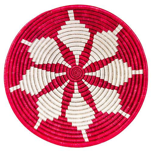 """12"""" Korren Kitgum Basket, Fiery Red"""