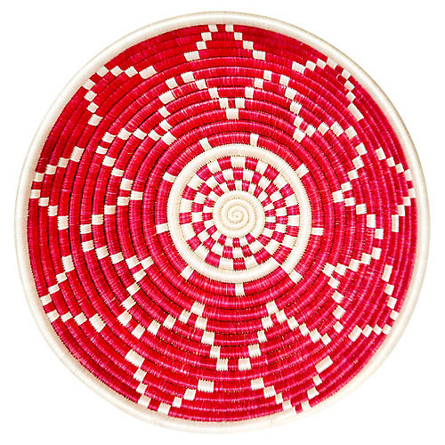 "12"" Korren Amagara Basket, Fiery Red"