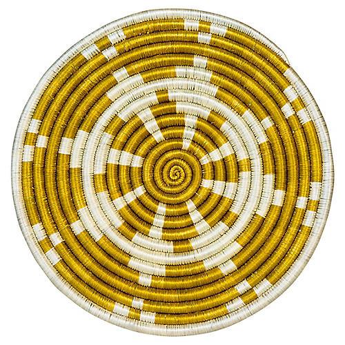Hope Vihiga Trivet, Citron/Ivory