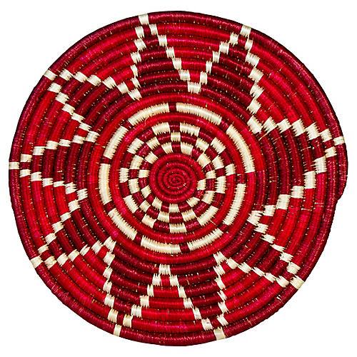 Thousand Hills Trivet, Fiery Red/Ivory
