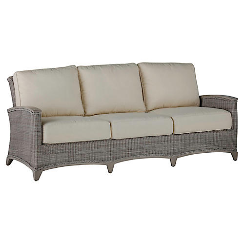 Astoria Sofa, Dove Sunbrella
