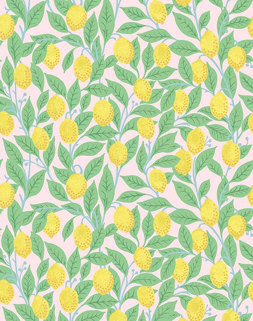 Lemons by WallShoppe