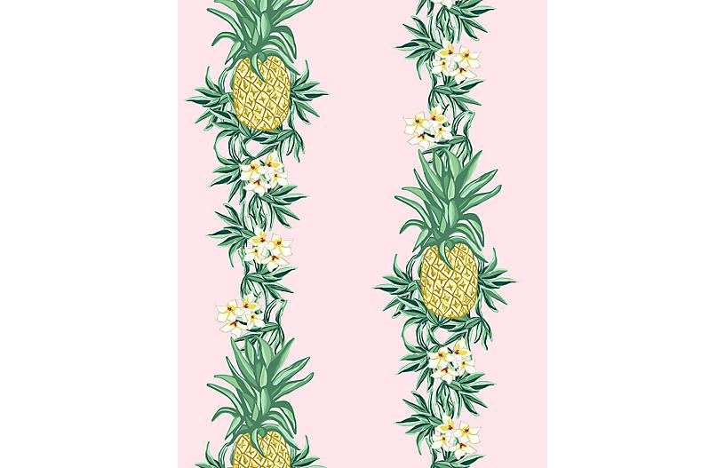 Pineapple Express Wallpaper, Pink