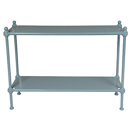 1800 Outdoor Console, Blue