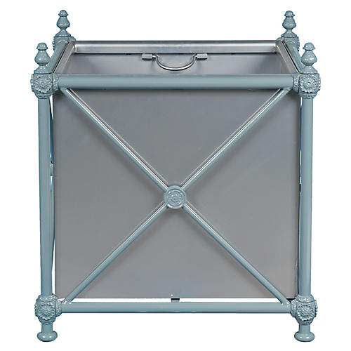 1800 Castaing Planter, Blue/Gray
