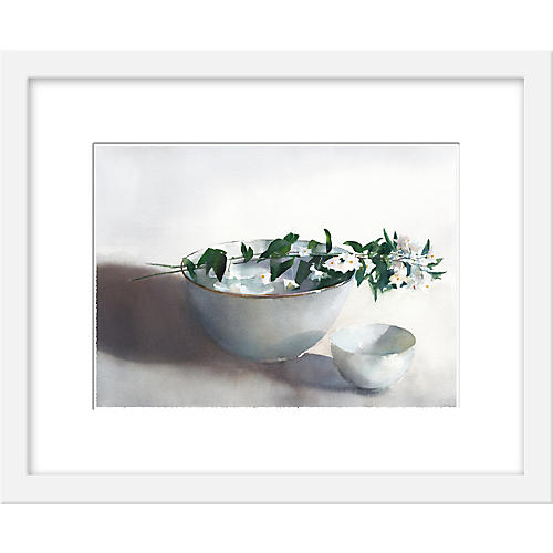 Helen Ström, Two Bowls & Blooms