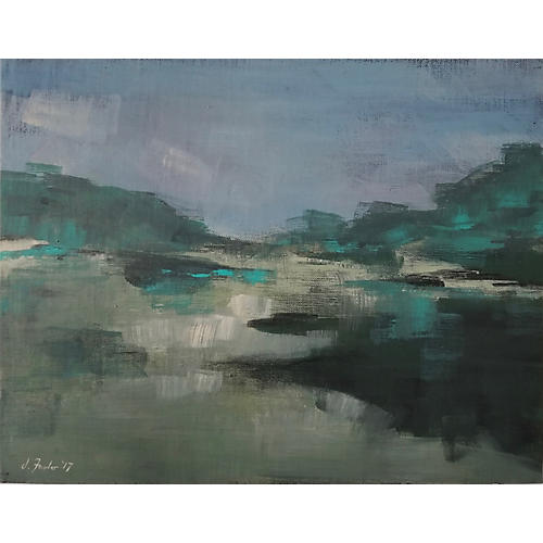 Jeremy Fowler, Abstract Landscape 5