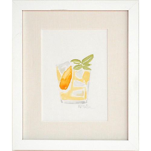 Katherine Stratton Miller, Orange Blossom Gin Fizz