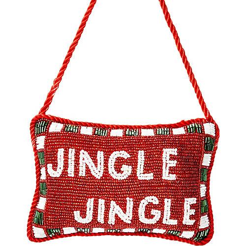 Jingle Jingle Beaded Doorknocker, Red/Multi